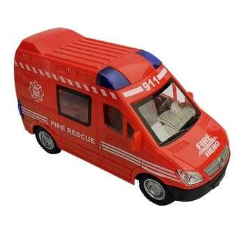 ماشین بازی طرح آتش نشانی مدل ّFIRE RESCUE کد 911-1020