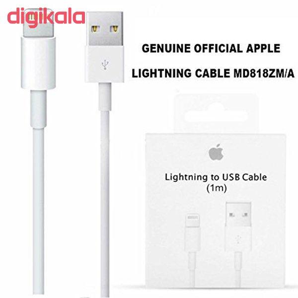 کابل تبدیل USB به لایتنینگ مدل MD818ZM/A طول 1متر main 1 2