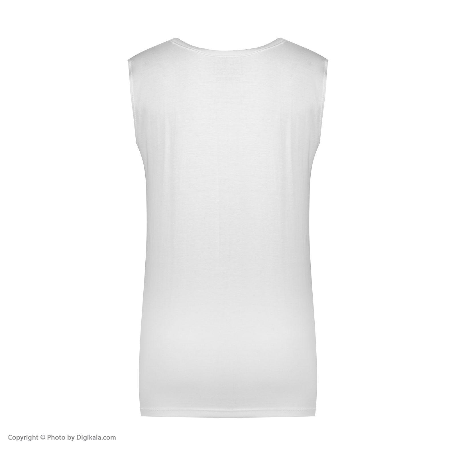 ست تاپ و شلوارک زنانه فمیلی ور طرح پاندا کد 0220 رنگ سفید -  - 10