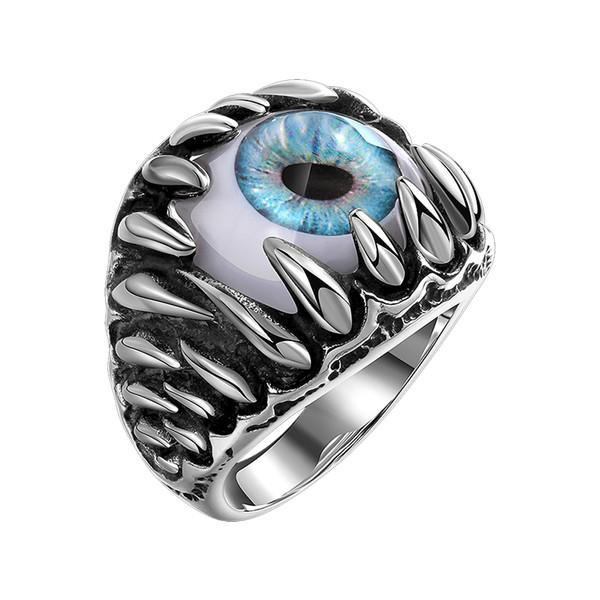 انگشتر مردانه گومایا مدل چشم اژدها j-10426