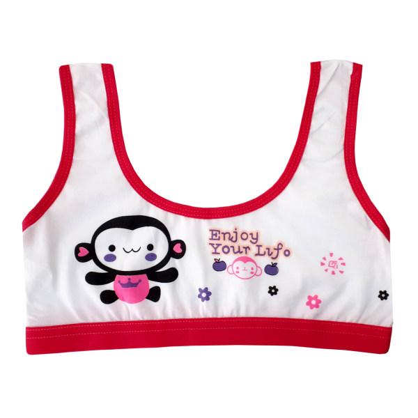 نیم تنه دخترانه طرح میمون کد 12