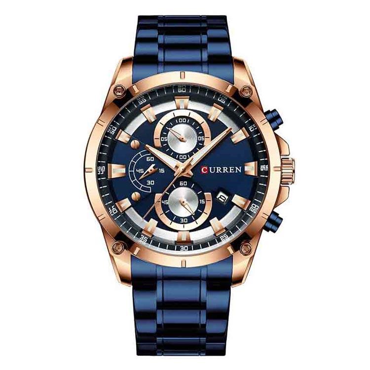 ساعت مچی عقربه ای مردانه کورن واتچ مدل M8360 BR