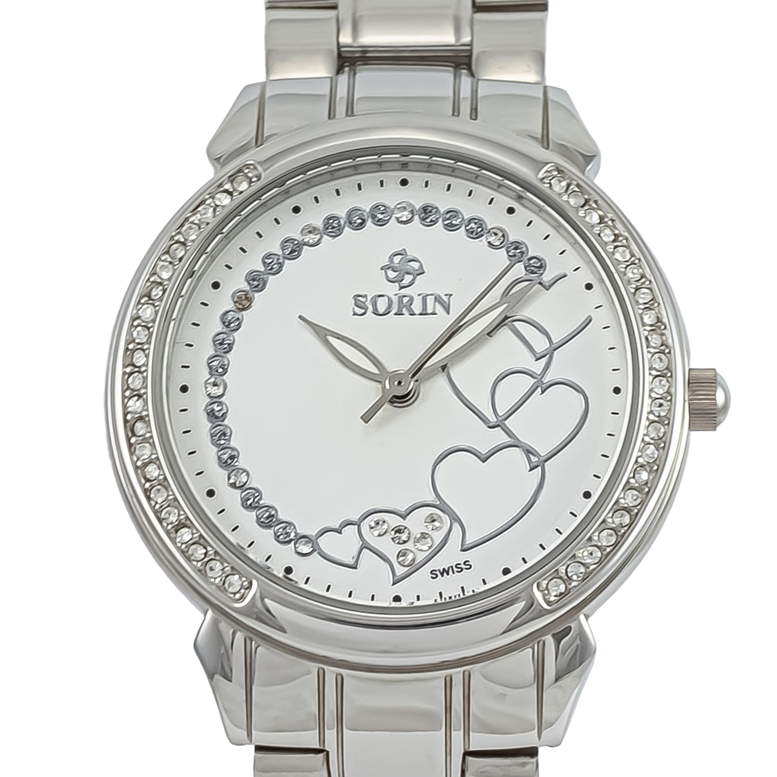 ساعت مچی عقربه ای زنانه سورین مدل SS0589L              ارزان
