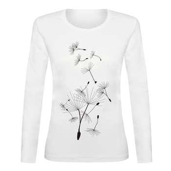 تی شرت آستین بلند زنانه کد TAB01-325
