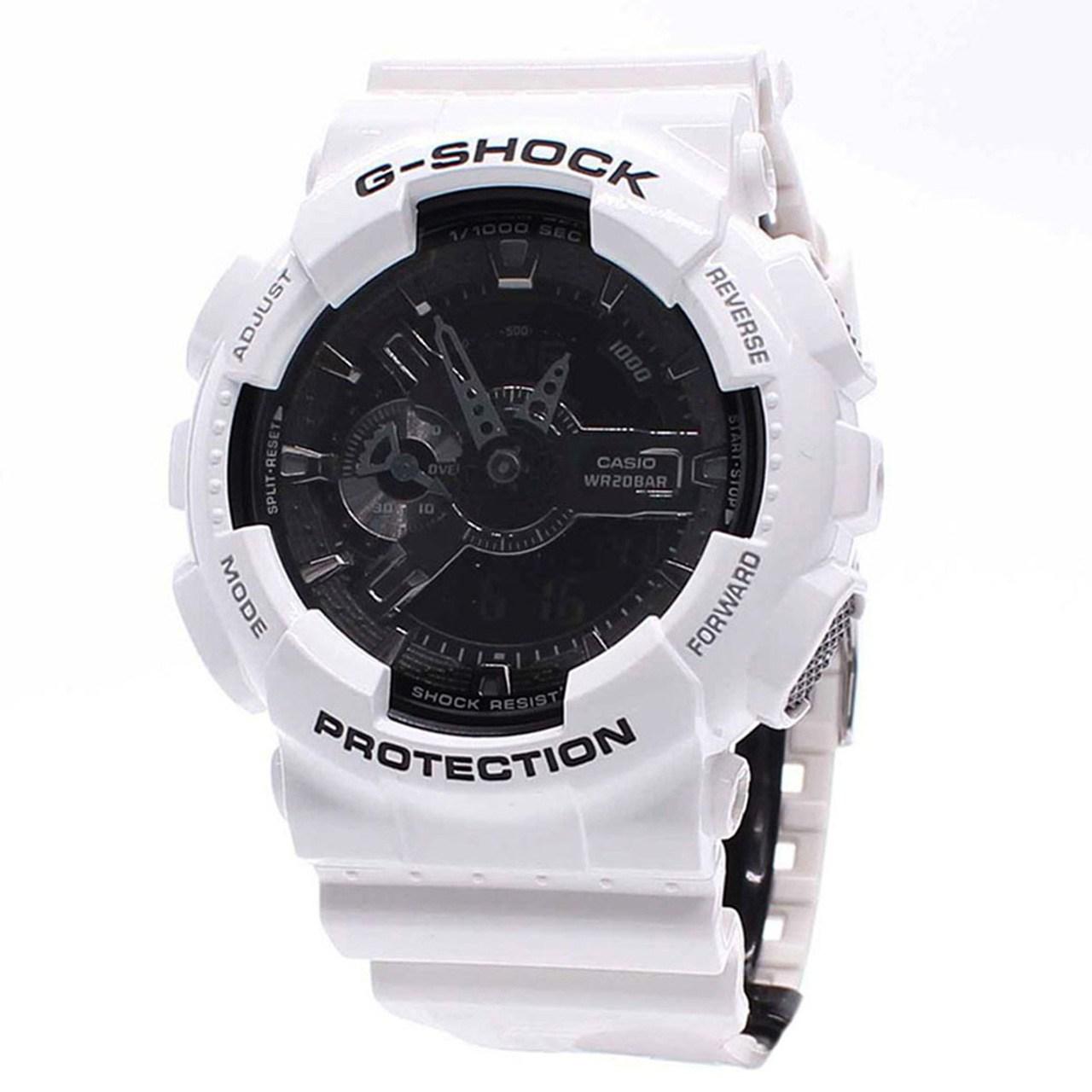 ساعت مچی عقربه ای کاسیو سری جی شاک مدل GA-110GW-7ADR مناسب برای آقایان