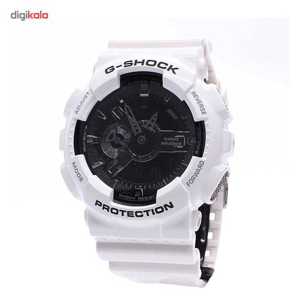 ساعت مچی عقربه ای کاسیو سری جی شاک مدل GA-110GW-7ADR مناسب برای آقایان -  - 1
