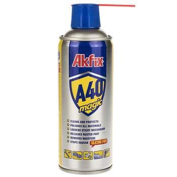 اسپری روان کننده آکفیکس مدل A40 حجم 400 میلیلیتر