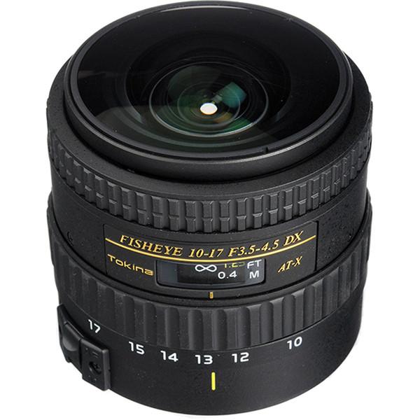 لنز دوربین توکینا 17-10 F/3.5-4.5 DX Auotofocus Fisheye For Canon
