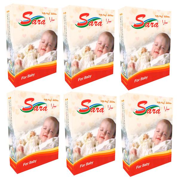 محافظ کهنه کودک سارا مدل  17931-6Box بسته 50 عددی