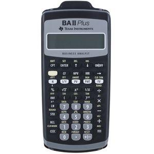 ماشین حساب تگزاس اینسترومنتس مدل BA II PLUS