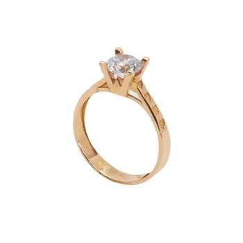 انگشتر طلا 18 عیار زنانه مدل B0012
