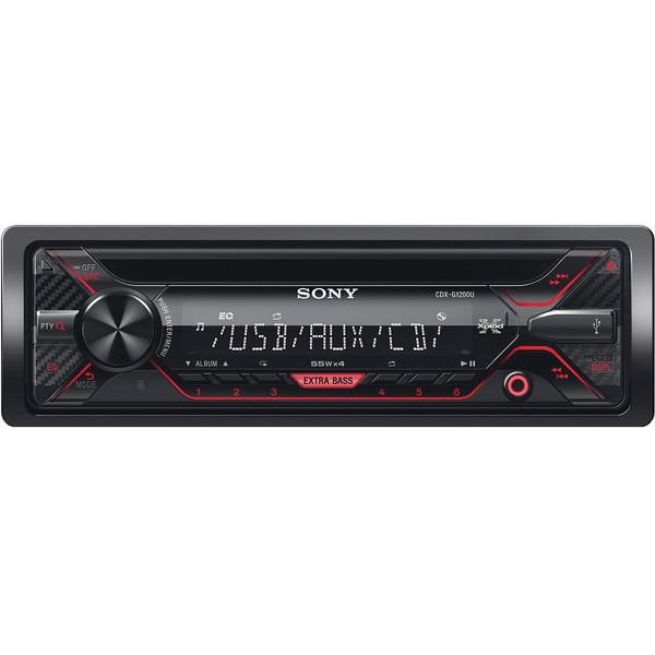 پخش کننده خودرو سونی مدل CDX-G1200U