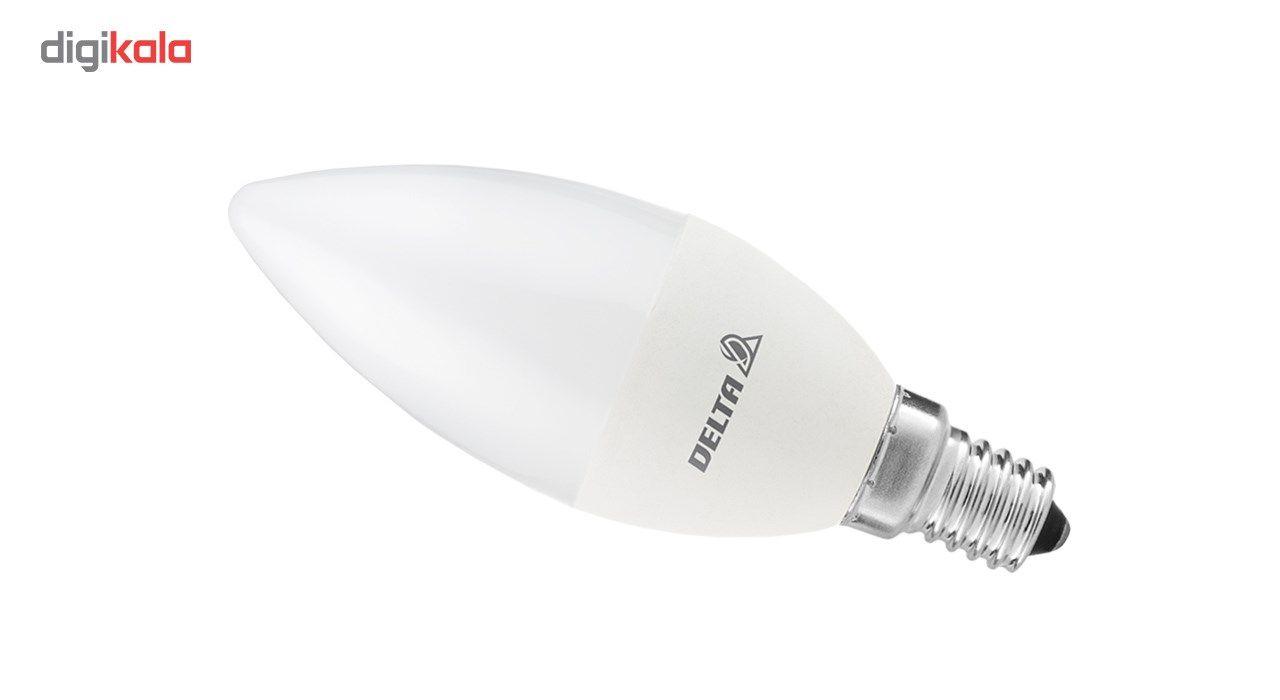 لامپ ال ای دی 7 وات دلتا مدل شمعی پایه E14  بسته 5 عددی main 1 2