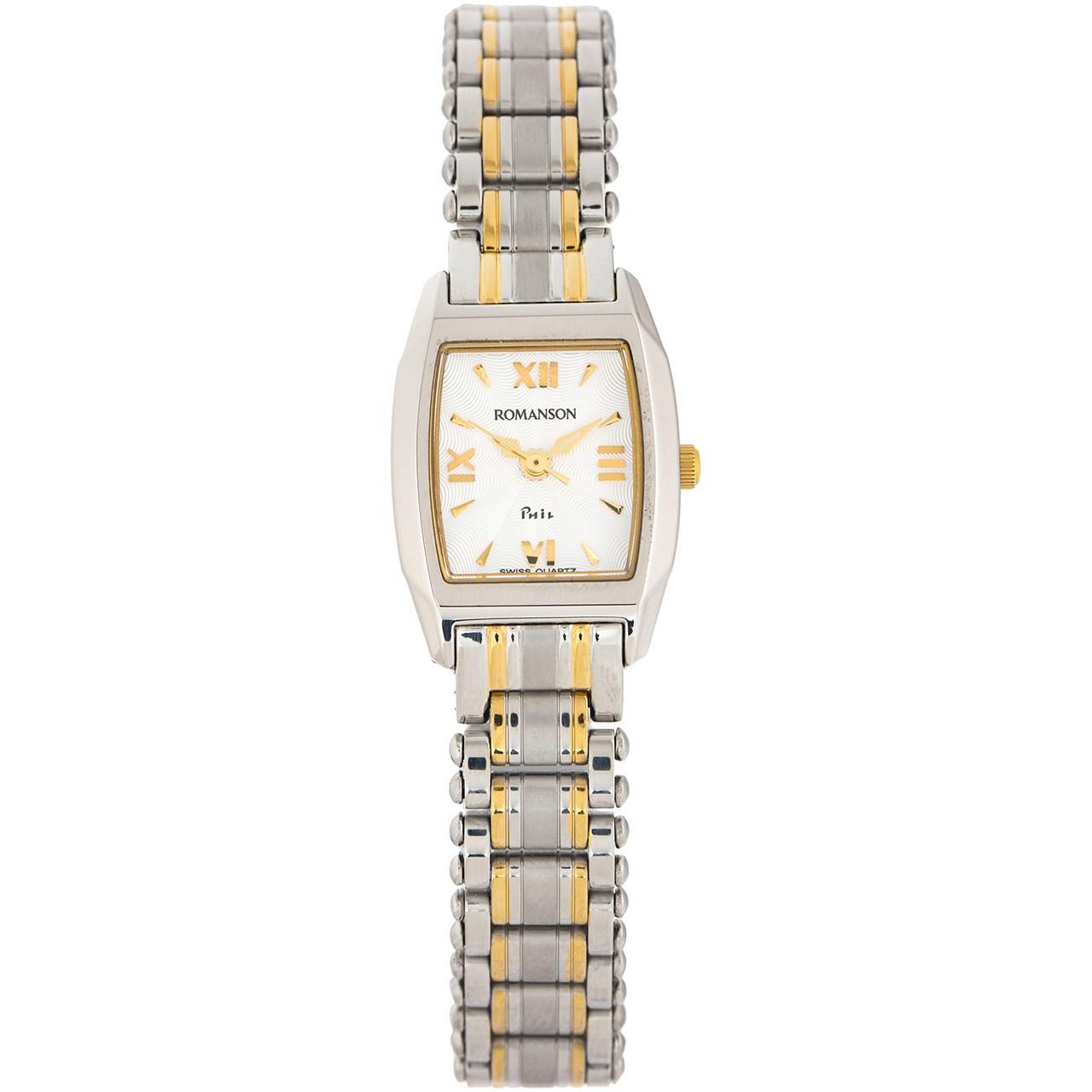 ساعت مچی عقربه ای زنانه رومانسون مدل NM9958LL1CAS1G -  - 1