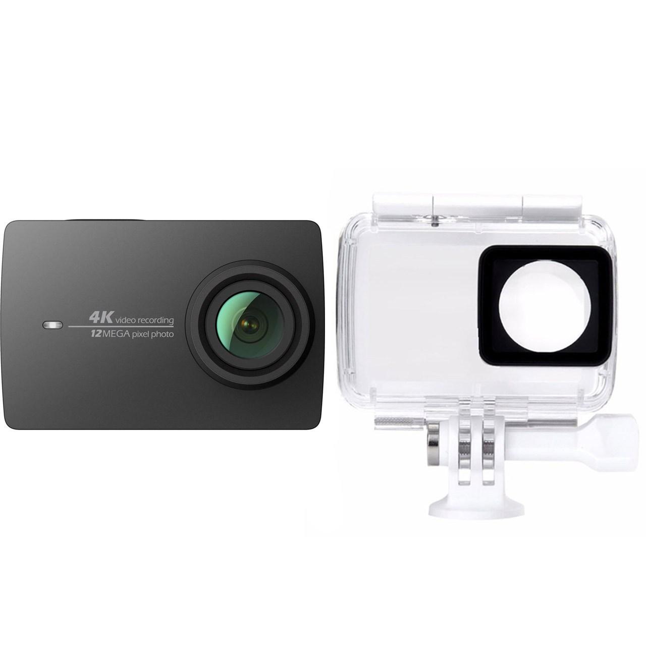 دوربین ایی مدل 4K همراه با قاب ضدآب