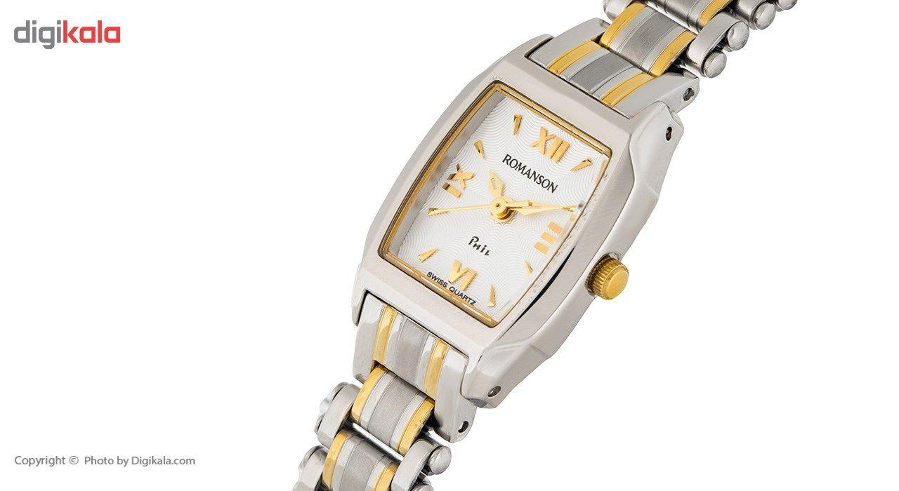 ساعت مچی عقربه ای زنانه رومانسون مدل NM9958LL1CAS1G -  - 4