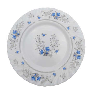 بشقاب غذاخوری پارس اپال مدل رمانتیک بسته 6 عددی
