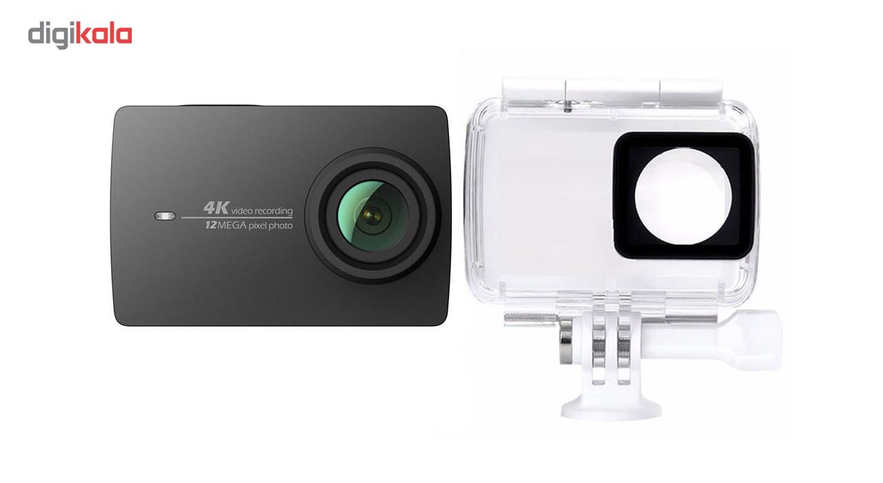 دوربین ایی مدل 4K همراه با قاب ضدآب  Yi 4K Action Camera With Waterproof Case