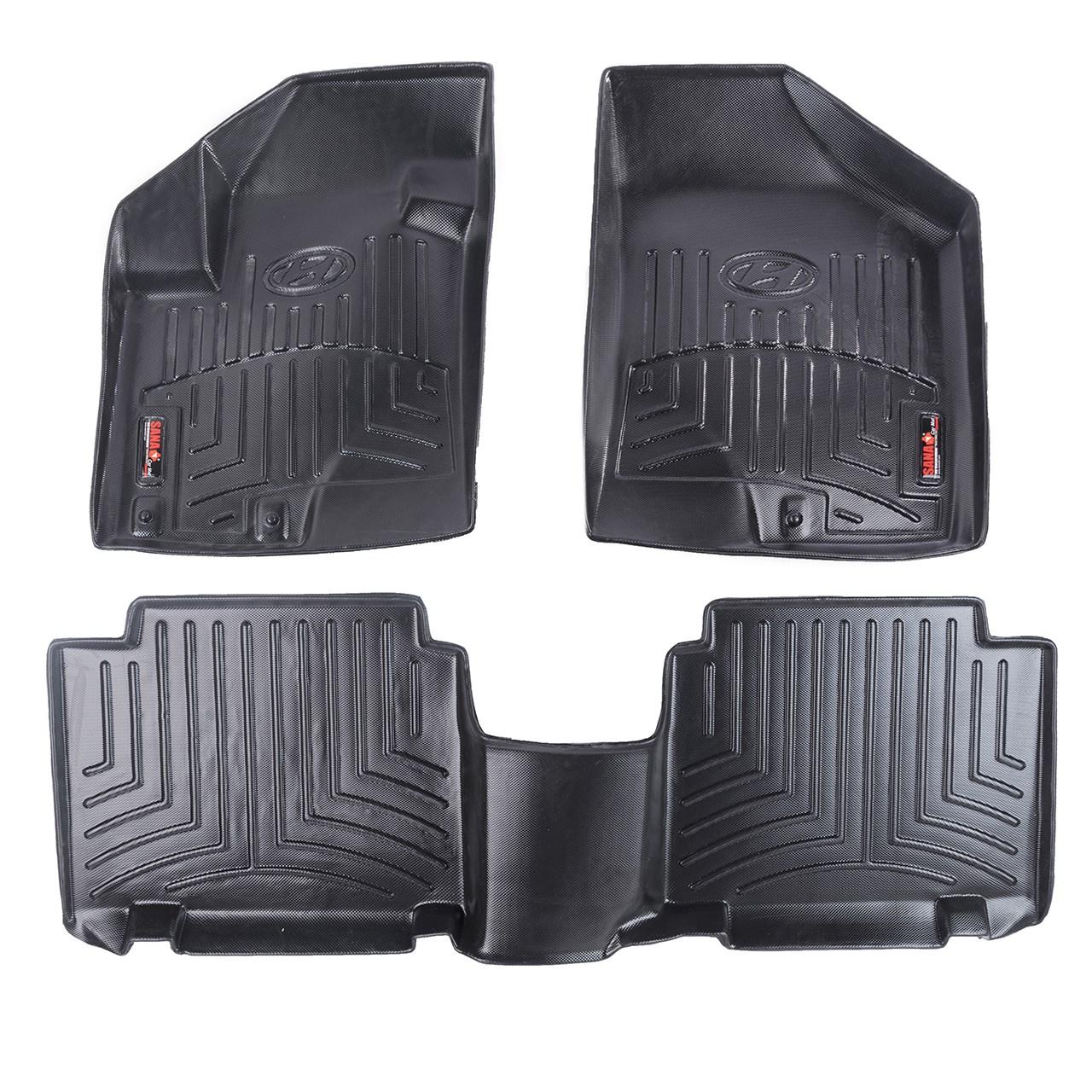 کفپوش سه بعدی خودرو سانا مناسب برای هیوندای ix55