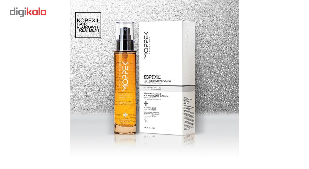 لوسیون ضد ریزش مو موپک مدل Kopexil حجم 100 میلی لیتر