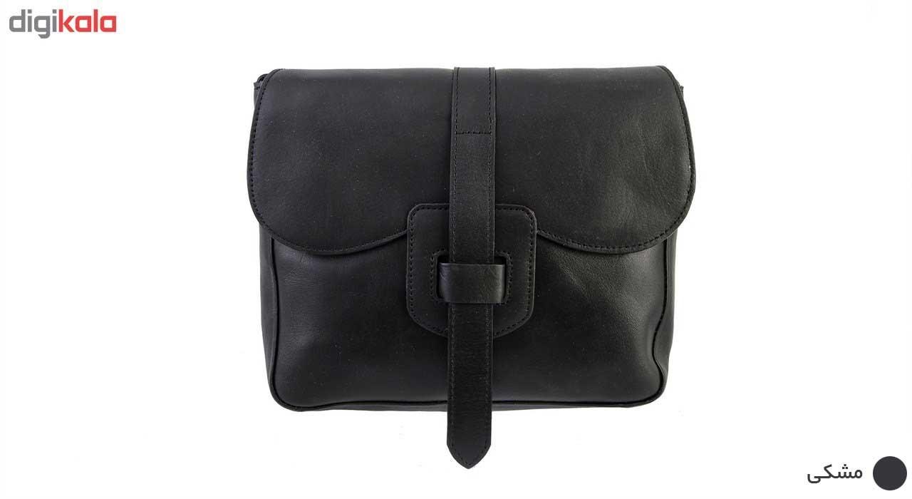 کیف دوشی چرمی گالری چیستا