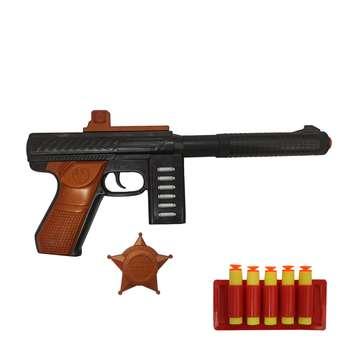تفنگ بازی گلدن گان مدل naabsell-p80 مجموعه 3 عددی