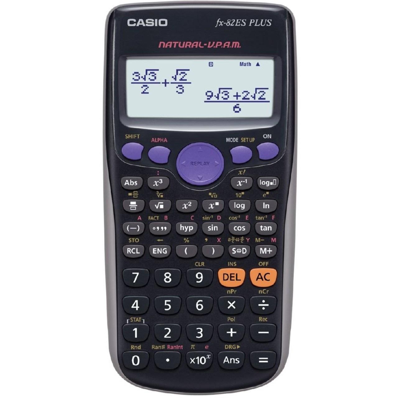 ماشین حساب کاسیو مدل FX-82-ES PLUS