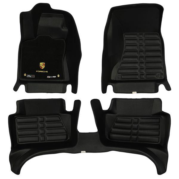 کفپوش سه بعدی خودرو تری دی مکس اچ اف کی مدل موکت دار مناسب برای پورشه ماکان