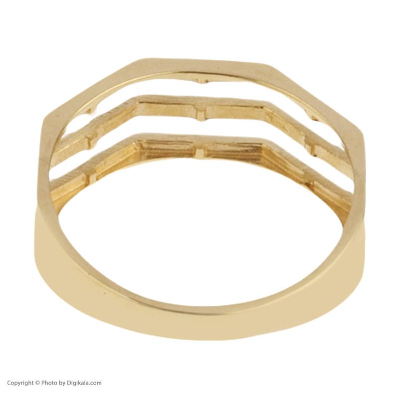 انگشتر طلا 18 عیار زنانه مدیسا مدل R1006-54
