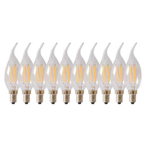 لامپ فیلامنتی 4 وات تکنوتل مدل 204  پایه E14 بسته 10 عددی