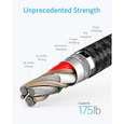 کابل تبدیل USB به USB-C انکر مدل PowerLine Plus II طول 0.9 متر thumb 7