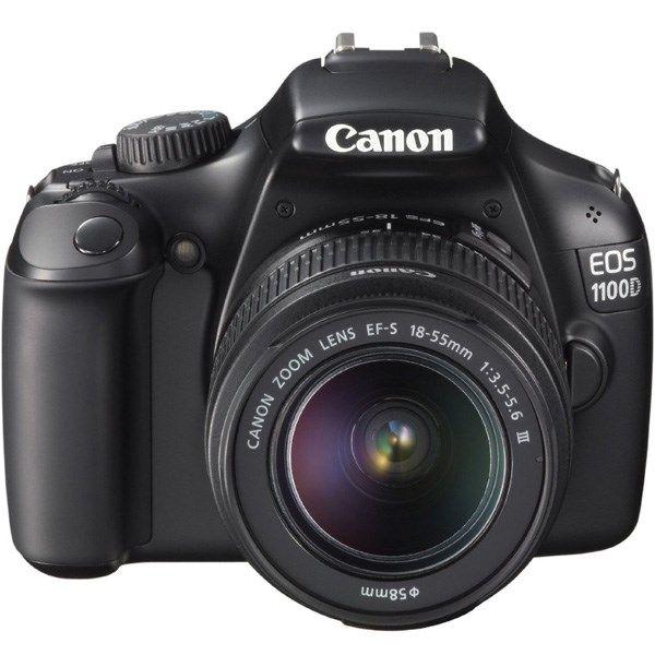 دوربین دیجیتال کانن ای او اس 1100 دی با لنز 18-55