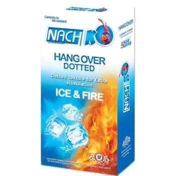 کاندوم خاردار کدکس مدل Hang Over Ice And Fire بسته 12 عددی