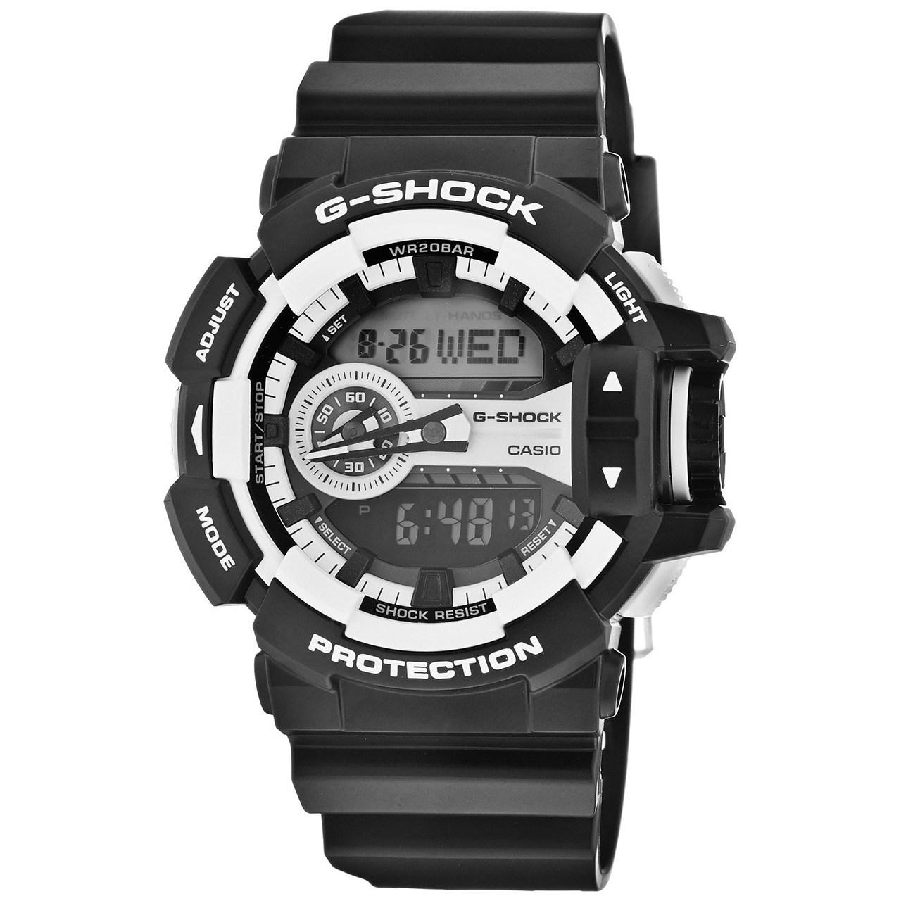 ساعت مچی عقربه ای مردانه کاسیو مدل G-Shock GA-400-1ADR