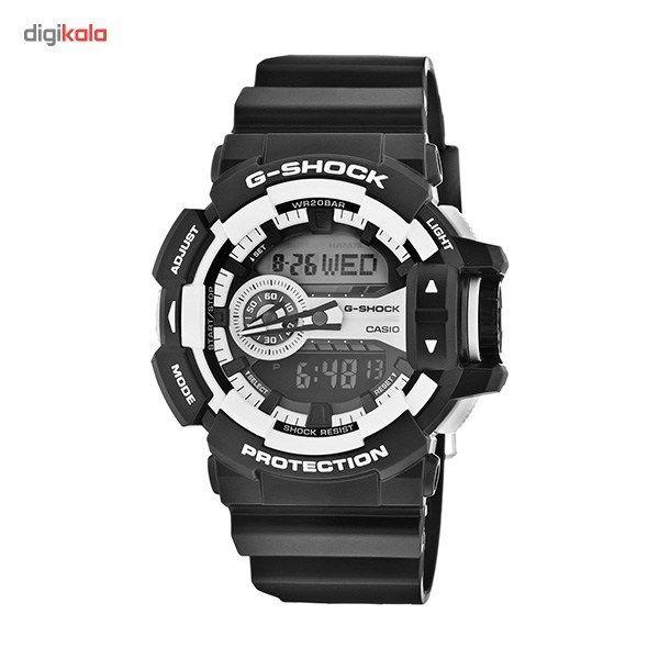 ساعت مچی عقربه ای مردانه کاسیو مدل G-Shock GA-400-1ADR -  - 1