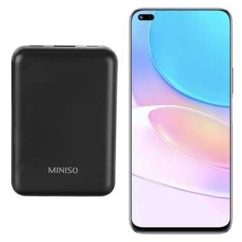 گوشی موبایل هوآوی مدل nova 8i دو سیم کارت ظرفیت 128 گیگابایت و رم 8 گیگابایت به همراه شارژر همراه مینیسو با ظرفیت 5000 میلی آمپر ساعت