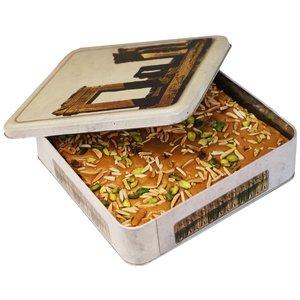 سوهان عسلی زعفرانی شیرین - 500 گرم