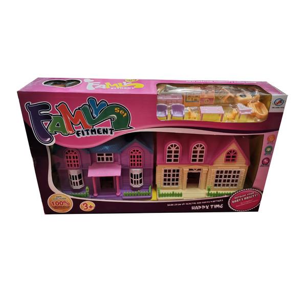 اسباب بازی طرح خانه عروسکی مدل FAMLY FITMENT SET