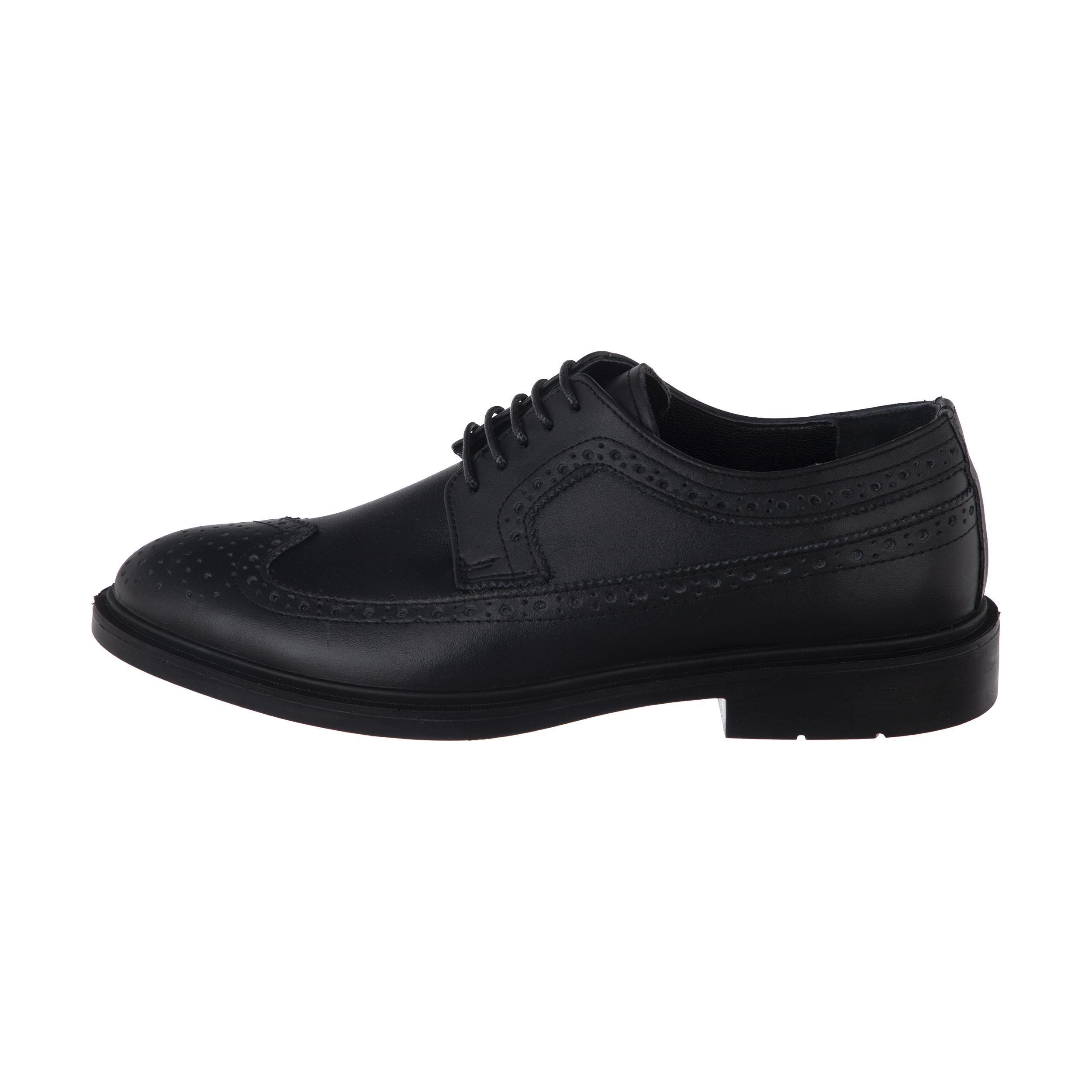 کفش مردانه ملی مدل آریاس کد 13197781 رنگ مشکی