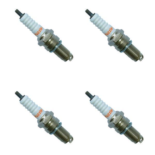 شمع موتورسیکلت پازل کد SPK1225540 مناسب برای هندا مجموعه 4 عددی