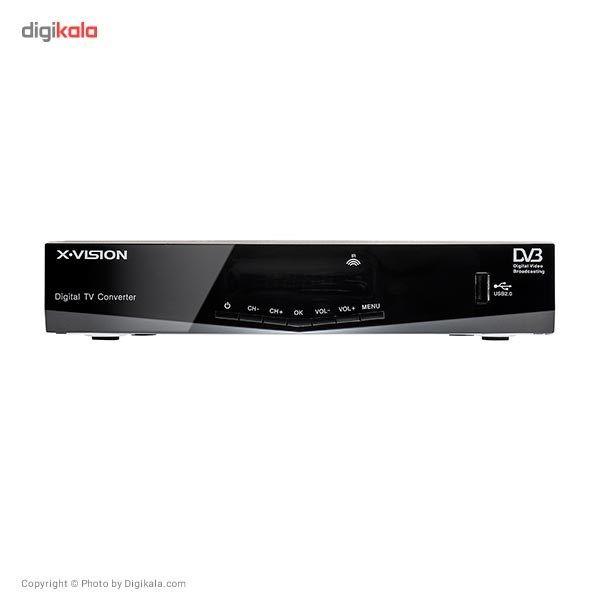 گیرنده ی دیجیتال ایکس ویژن XDVB-383   X.Vision XDVB-383 DVB-T