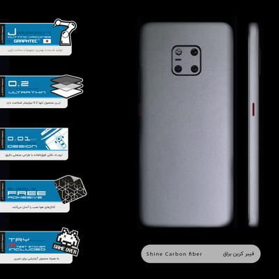 برچسب پوششی ماهوت مدل Full skin-Matte-Silver مناسب برای گوشی موبایل هوآوی Mate 20 Pro