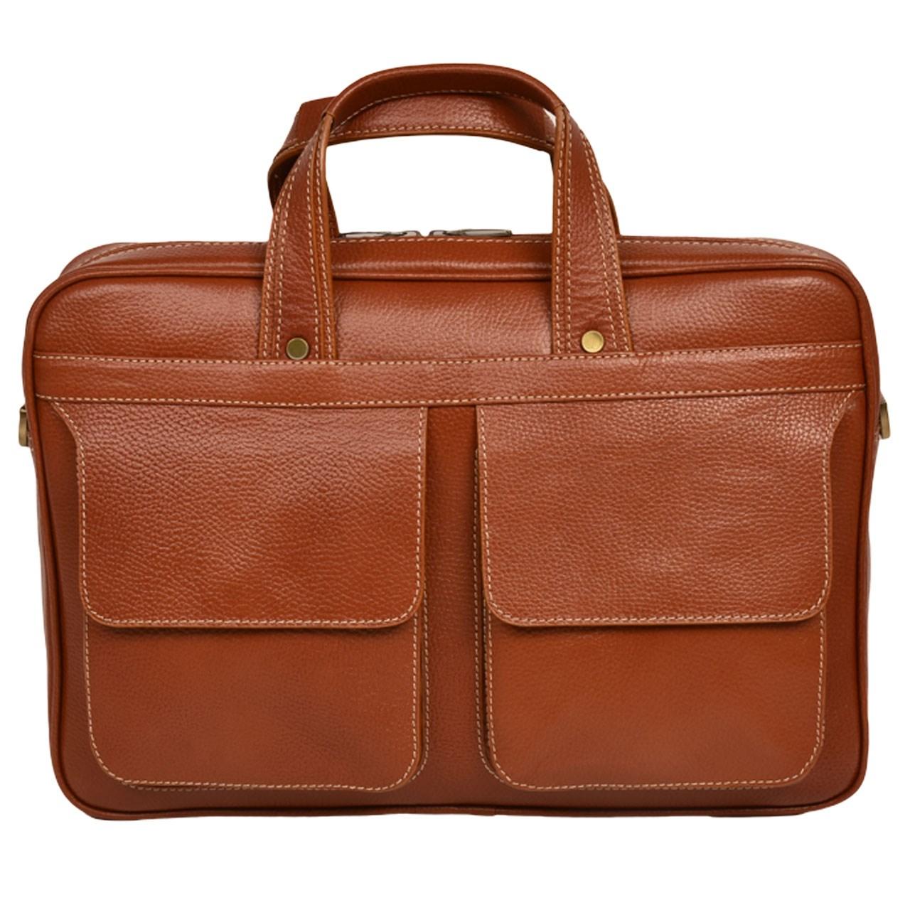 کیف اداری چرم طبیعی کهن چرم مدل L85-1