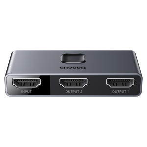 مبدل 1 به 2 HDMI باسئوس مدل CAHUB-BC0G