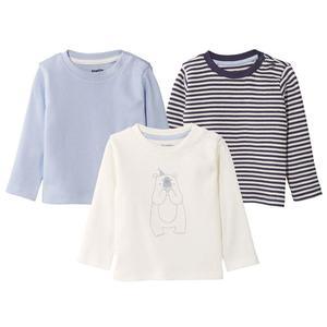 تی شرت نوزادی لوپیلو کد B-03 مجموعه سه عددی