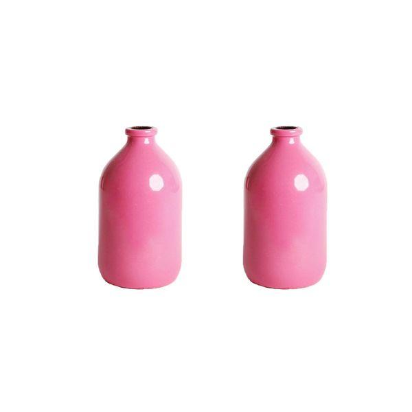 گلدان دکوری مدل نقلی بسته 2 عددی