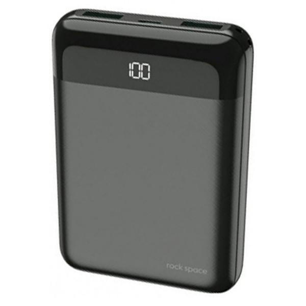 شارژر همراه راک اسپیس مدل P66 mini ظرفیت 10000 میلی آمپر ساعت