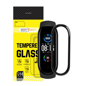 محافظ صفحه نمایش بادیگارد Mi5 مناسب برای ساعت هوشمند شیائومی Mi Band 5