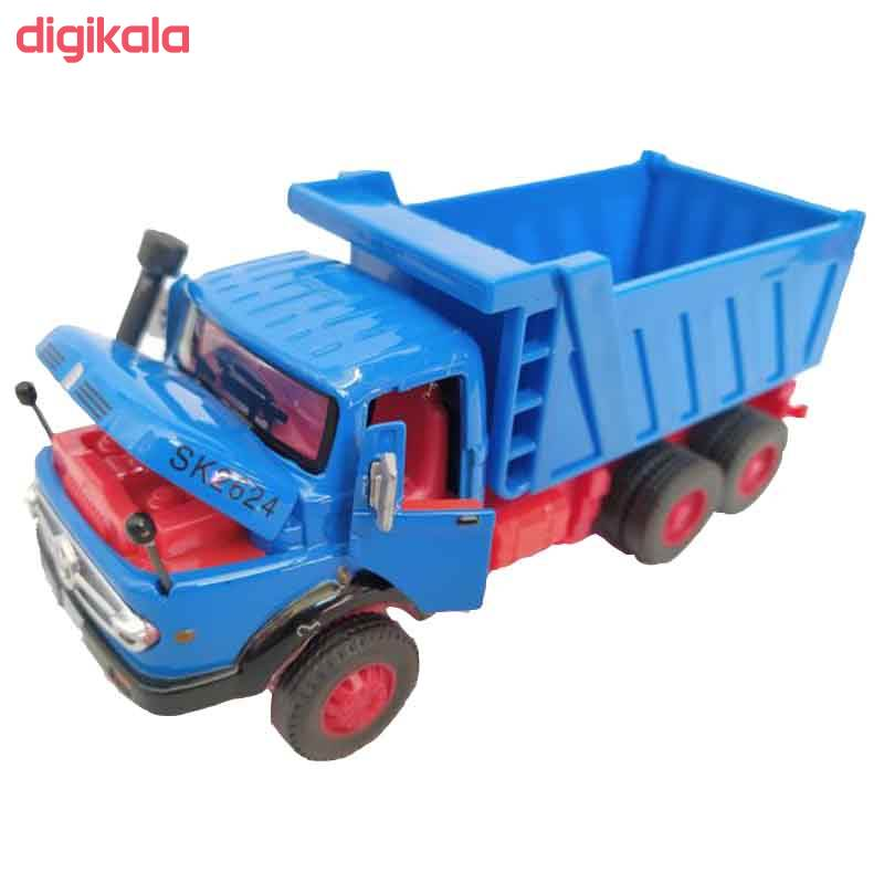 ماشین بازی طرح کامیون مدل بنز main 1 3