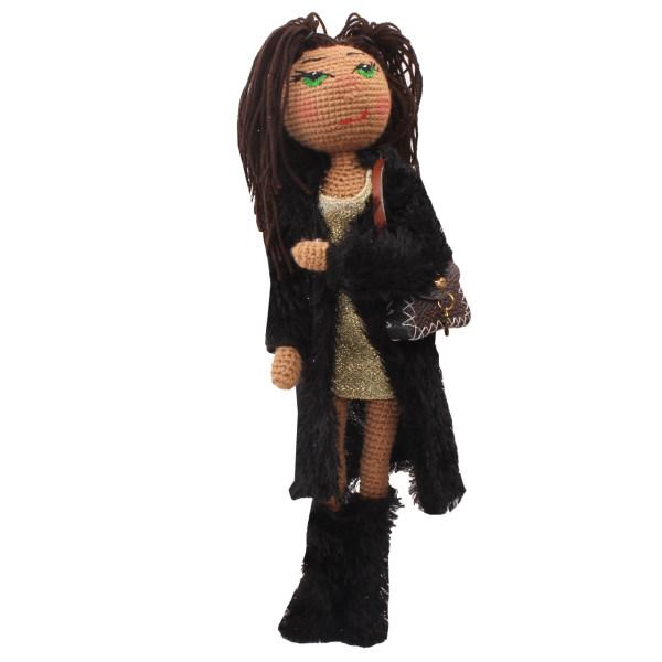 عروسک بافتنی پریا مدل Yasaman04